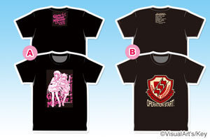 Angel Beats!-1st beat-Tシャツ
