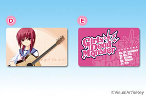 Angel Beats!ICカードステッカー