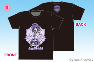 Angel Beats!Tシャツ